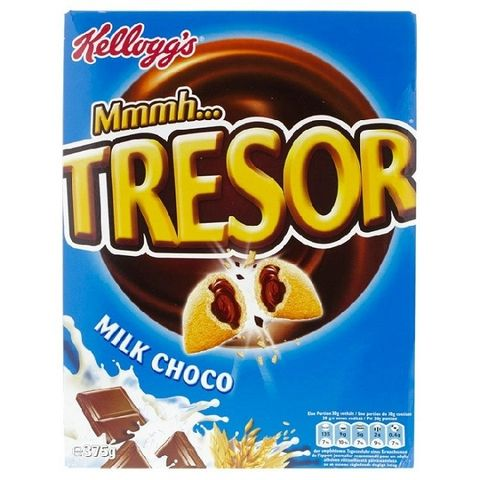 Kellogg's Tresor Milk Chocolate 375gm