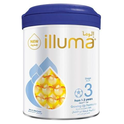 Illuma 3 Milk Powder Can 850g