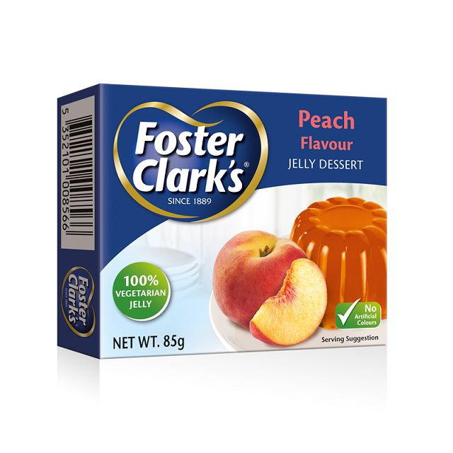 Foster Clark Jelly Peach 85gm