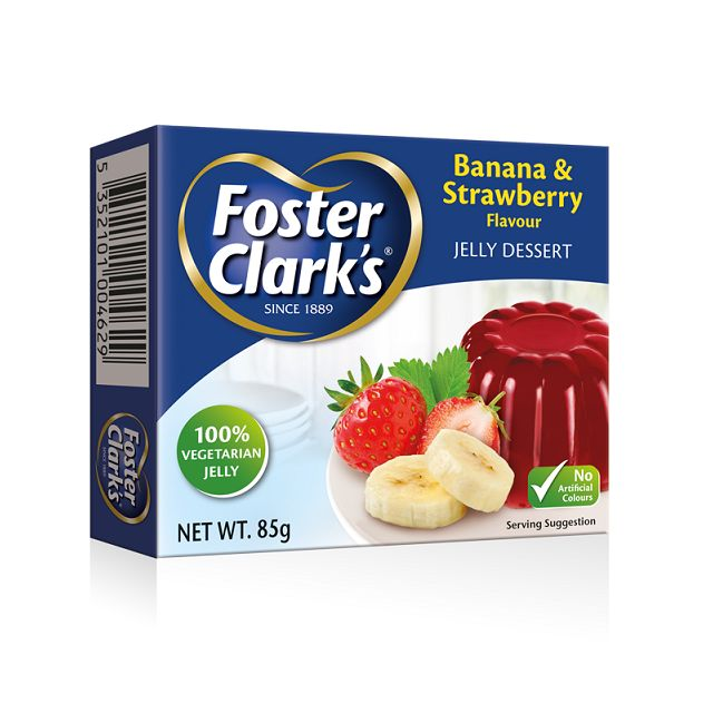 Foster Clark Jelly Strw Banana 85gm