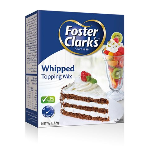 Foster Clark Whipped Topping Mix 72gm