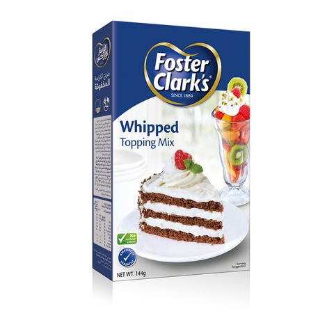 Foster Clark Whipped Topping Mix 144gm