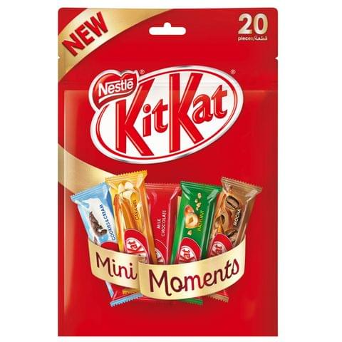 Kit Kat Chunky Mini Flavored  12 x 340gm