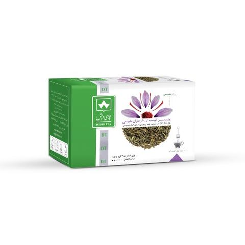 Debsh Tea Green Tea With Saffron 20s