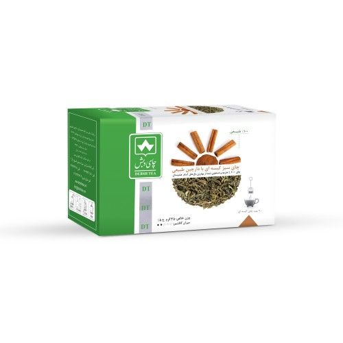Debsh Tea Green Tea With Cinnamon 20s