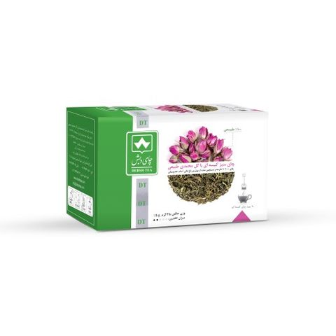 Debsh Tea Green Tea With Damask Rose 20s