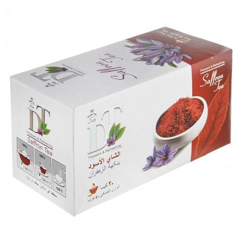 Debsh Tea Black Tea With Saffron 20s