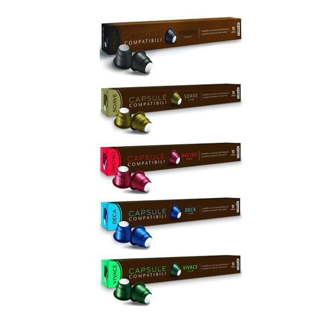 Caffitaly Nespresso Compatible Capsules 12s