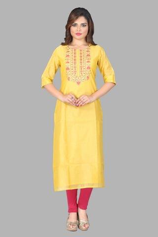 AABHIKA LIGHT YELLOW