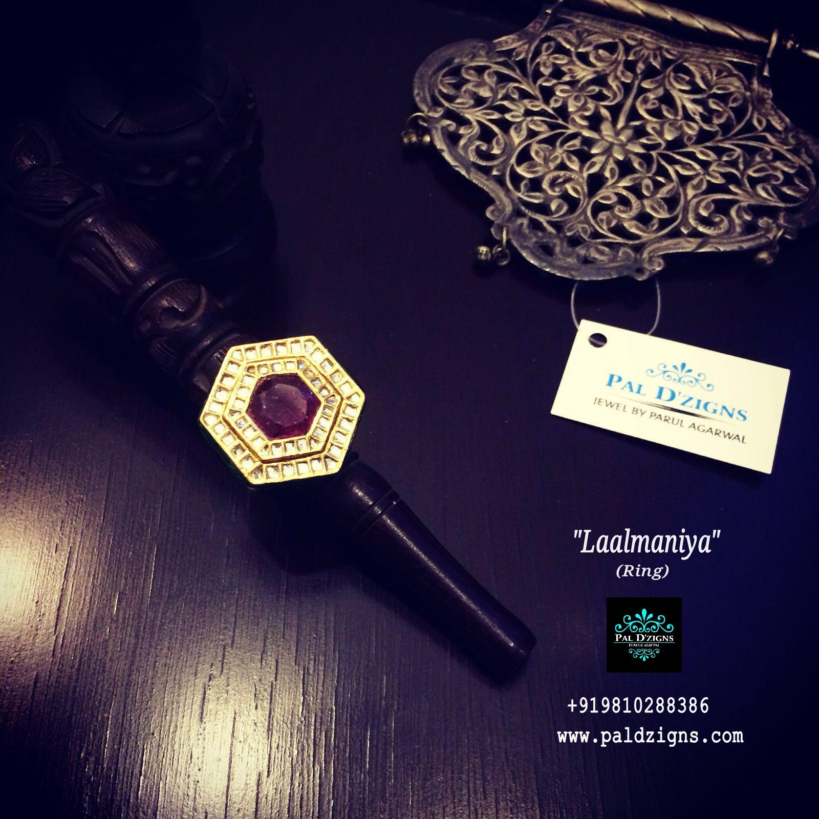 Laalmaniya Ruby Ring