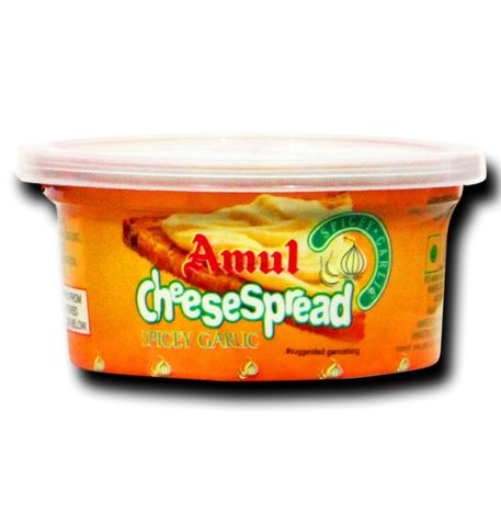 AMUL CHEESE SPREAD GARLIC 200G