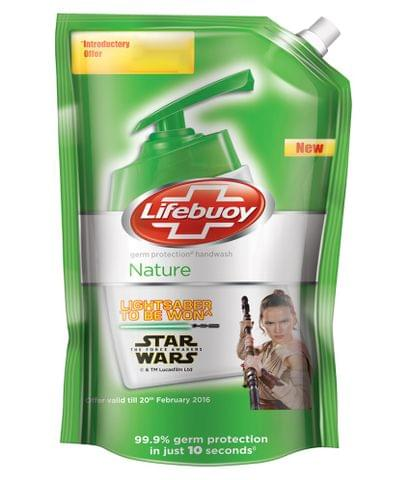 LIFEBUOY HAND WASH NATURE 800ML