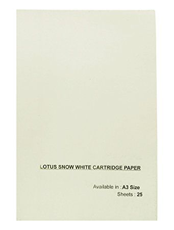 LOTUS SNOW WHITE A3 PEPAR
