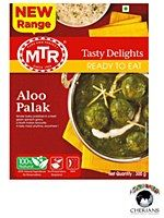 MTR REDY TO EAT ALOO PALAK 300G