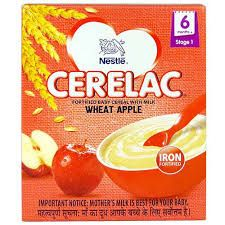 NESTLE CERELAC WHEAT APPLE 6MNTH 300G