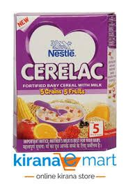 NESTLE CERELAC GREEN AND FRUIT 300G