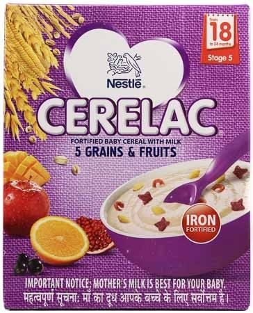 NESTLE CERELAC 5 GREEN AND FRUIT 300G