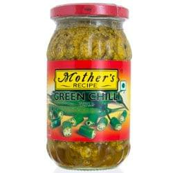 MOTHERS GREEN CHILLI PICKLE 400G
