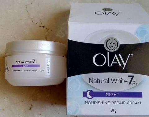 OLAY NATURAAL WHITE NIGHT CREAM 50G