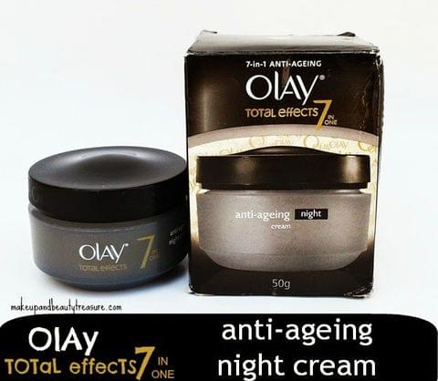 OLAY TOTAL EFFECT NIGHT CREAM 20G