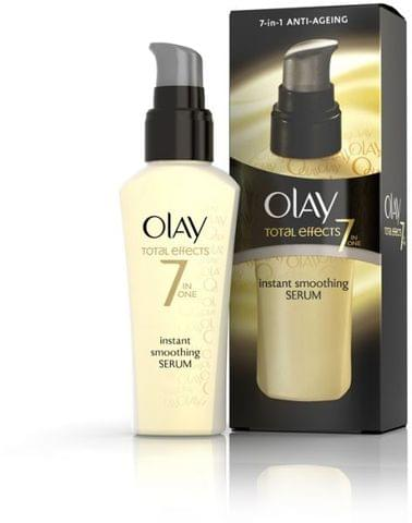 OLAY TOTAL EFFECT SMOOTHING SERUM 50ML