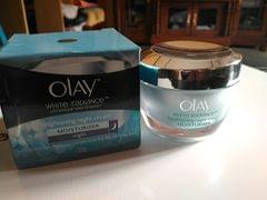 OLAY WHITE REDIENT BRIGHTNING ESSENCE NIGHT CREAM 50G