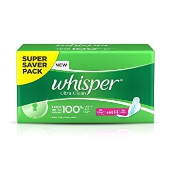 WHISPER ULTRA CLEAN XL 30PC