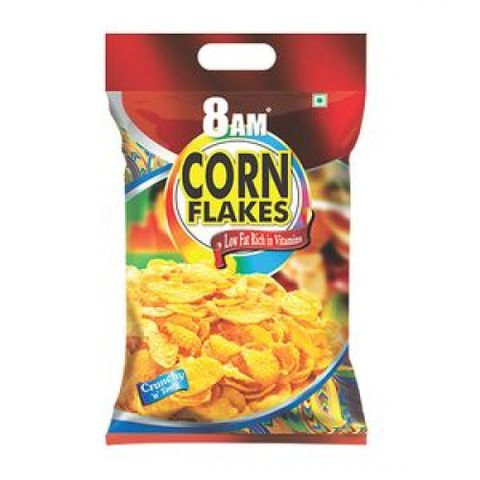 8 AM CORN FLAKES 500GM 99%