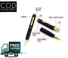Hidden Spy Pen Camera (4GB)