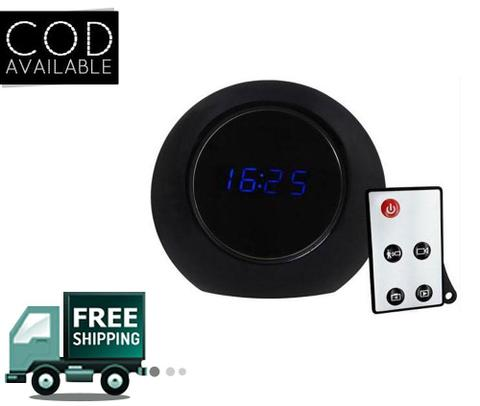 Spy Table Clock Hidden Camera With High Definition
