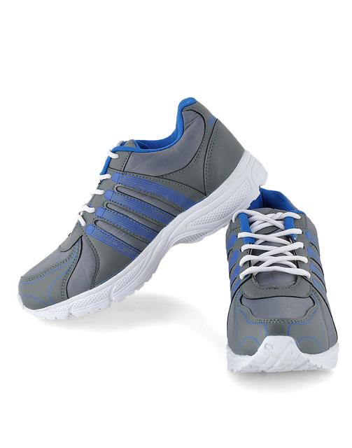 Style Blue & Grey Sports Shoes