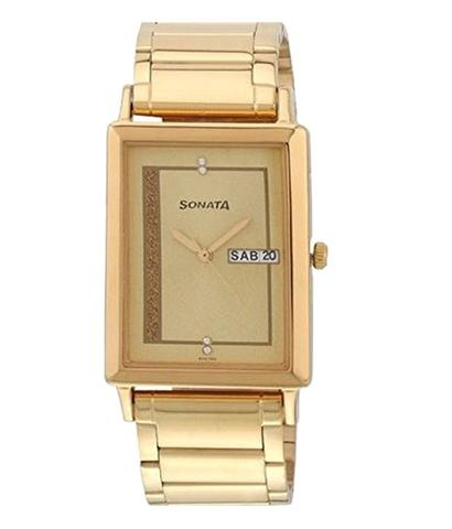 Sonata 77003Ym04 Men Watch