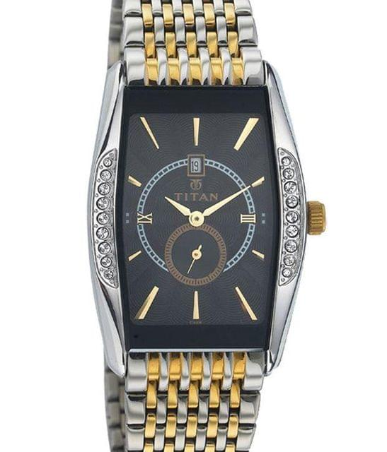 Titan 1527Bm03 Men's Watch