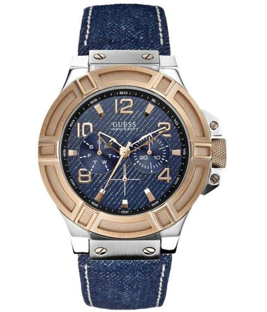 Guess Trendy W0040G6 Gents Wrist Watch - Imported