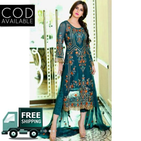 Queen Couture Designer Pakistani Style Dress Material