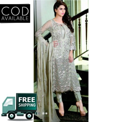 Inspired Designer Pakistani Style Dress Material