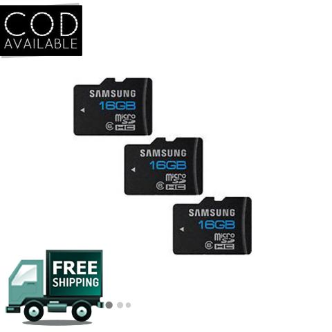 Samsung Micro SD 16GB Combo of 3