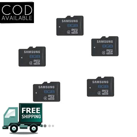 Samsung Micro SD 8GB Combo of 5