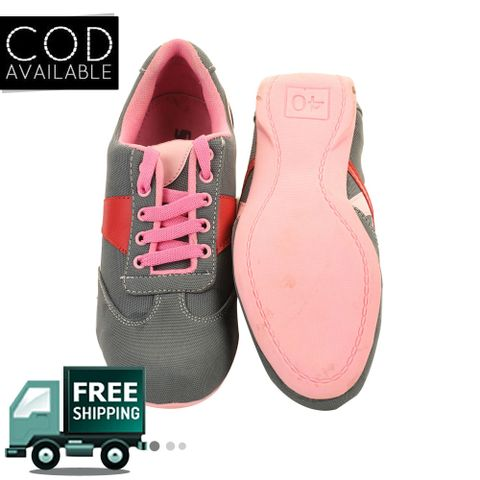 Grey-Pink Women Sporty