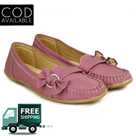 Purple Women Loafers