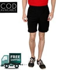 Adam N' Eve Cotton Black Shorts