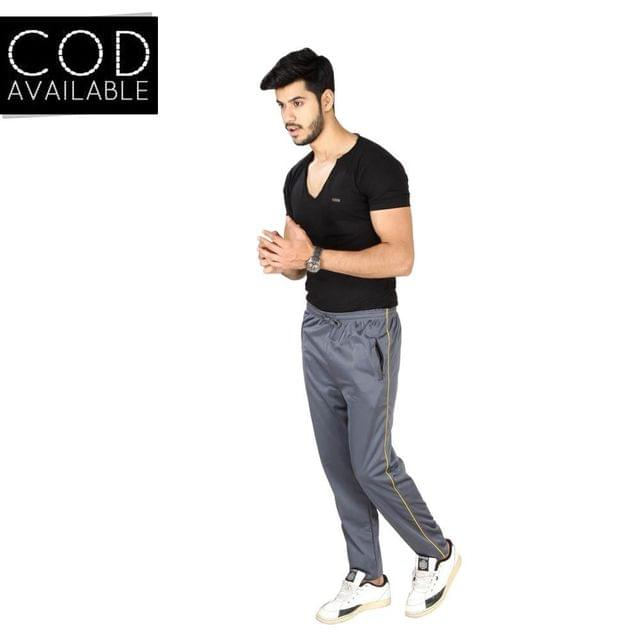 SLS Polyester Cotton Men's Track Pants