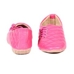 Ten Women's Pink Synthetic Leather Casual Shoes