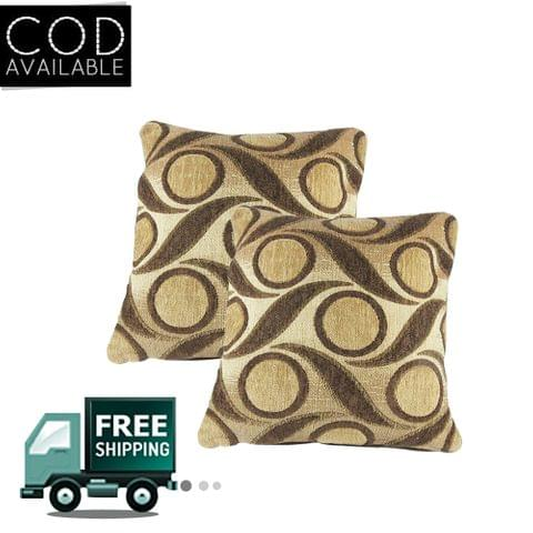 Rotomax Set of 2 Pcs Shaneel Cushion Cover of 16 x 16 Inches