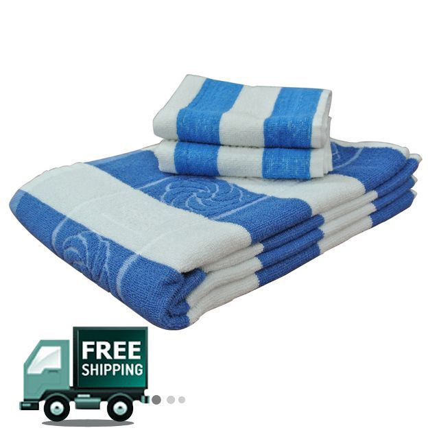 Fashiza JJ Cotton Bath/Face Towel