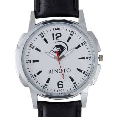 Rinoto Round Designer Men's Analog Watch