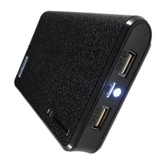 Upsilon 12000mAh Power Bank-Black