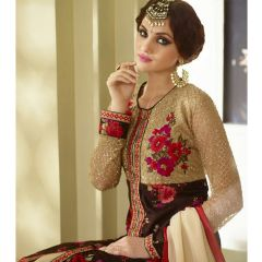 PS Enterprise Multicolor Georgette Unstitched Suit