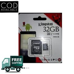 Kingston MicroSDHC 32 GB Ultra SDHC Class 10 80 MB/s Memory Card