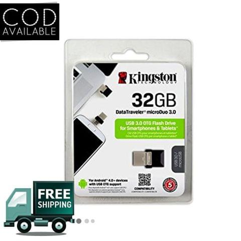 Kingston DT microDuo USB3.0 OTG 32GB Pen Drive